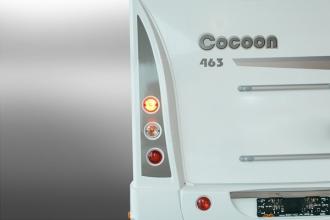 Dicar Cocoon Verhoogde design achterbumpers
