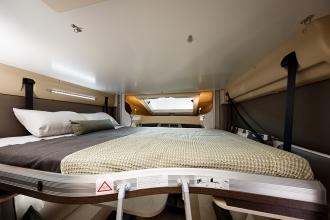 Dicar Cocoon Elektrisch hefbed boven zithoek voor 2 personen