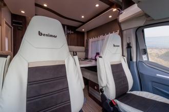 Dicar Cocoon In de hoogte verstelbare cabinezetels